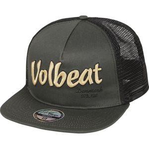 Volbeat Logo Trucker kšiltovka cerná/šedá