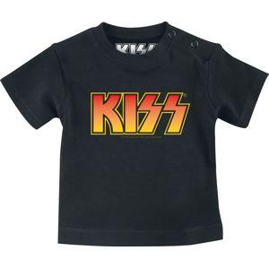 Kiss Logo Baby detská košile černá