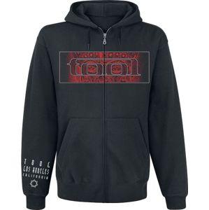 Tool Red Face mikina s kapucí na zip černá