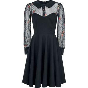 Belsira Lacedress šaty černá