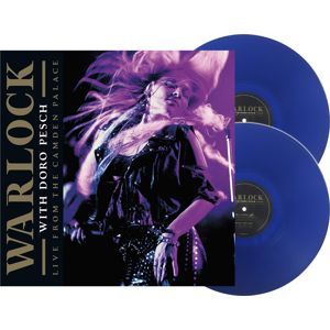 Warlock Live From London 2-LP modrá