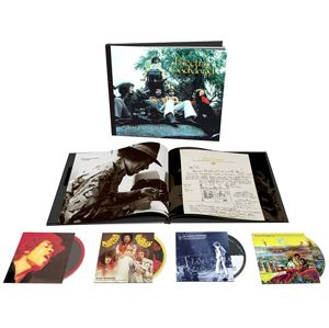 Jimi Hendrix Experience Electric ladyland - 50th Anniversary Deluxe Edition 3-CD & Blu-ray standard