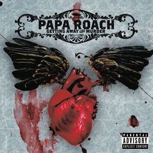 Papa Roach Getting away with murder CD standard