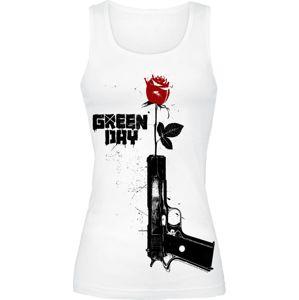 Green Day Progression dívcí top bílá