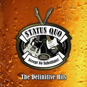 Status Quo Accept no substitute-The Definitive Hits 3-CD standard