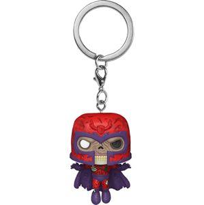 Marvel Zombies - Magneto Klíčenka vícebarevný