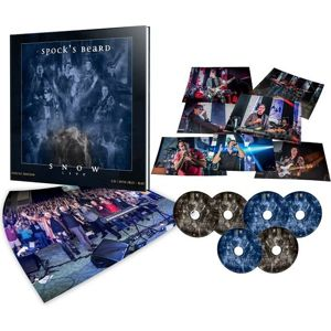 Spock's Beard Snow Live 2-CD & 2-DVD & 2-Blu-ray standard