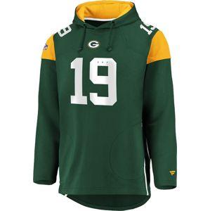 NFL Green Bay Packers mikina s kapucí tmave zelená