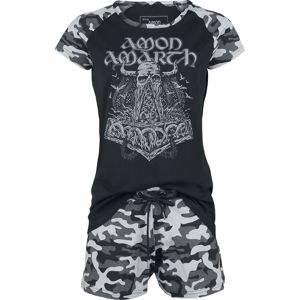 Amon Amarth EMP Signature Collection pyžama vícebarevný