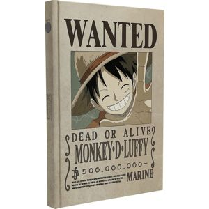 One Piece Wanted Luffy Notes standard