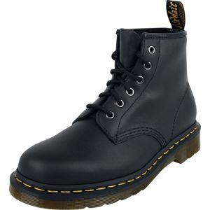 Dr. Martens 101 Black Nappa 6 Eye Boot boty černá