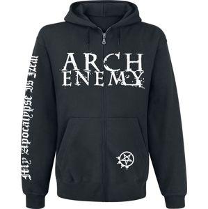 Arch Enemy My Apocalypse mikina s kapucí na zip černá