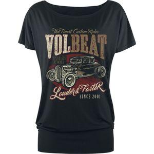 Volbeat Louder And Faster dívcí tricko černá
