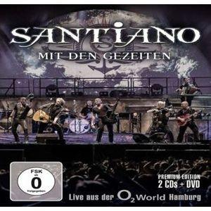 Santiano Mit den Gezeiten - Live aus der O2 World Hamburg 2-CD & DVD standard