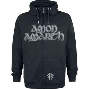 Amon Amarth Dragon mikina s kapucí na zip černá