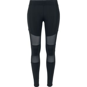 Urban Classics Ladies Tech Mesh Leggings Leginy černá