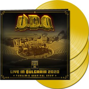 U.D.O. Live in Bulgaria 2020 – Pandemic Survival Show 3-LP žlutá