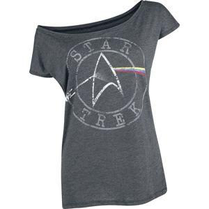 Star Trek Space - The Final Frontier dívcí tricko tmavě prošedivělá