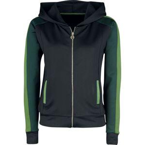 League Of Legends Akali dívcí bunda cerná/zelená