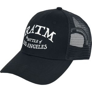 Rage Against The Machine Battle Star - Trucker Cap Trucker kšiltovka černá