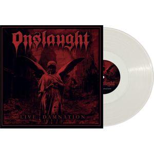 Onslaught Live Damnation LP transparentní