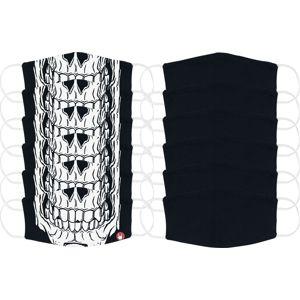 EMP Skull - 12er Bundle - Small Size maska cerná/bílá