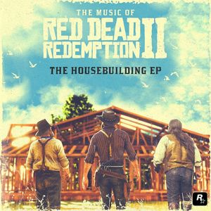 Red Dead Redemption II - The housebuilding EP 10 inch-EP modrá