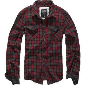 Brandit Duncan košile cervená/hnedá