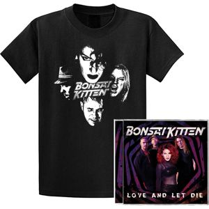 Bonsai Kitten Love and let die CD & tricko standard