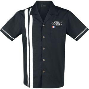 Ford Ford košile cerná/bílá