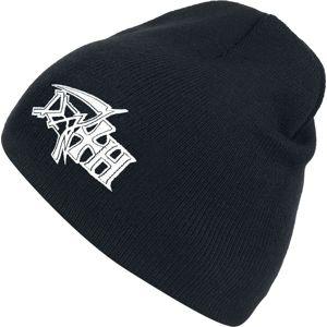 Death Logo Beanie čepice černá