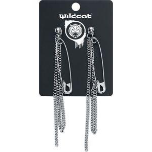 Wildkitten® Safety Pin Earrings sada náušnic stríbrná
