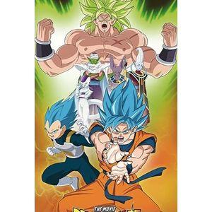 Dragon Ball Broly - Group plakát vícebarevný