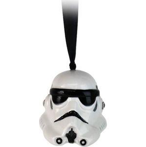 Star Wars Stormtrooper Vánocní ozdoba - koule bílá/cerná