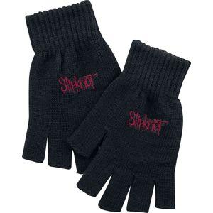 Slipknot Logo rukavice bez prstu černá