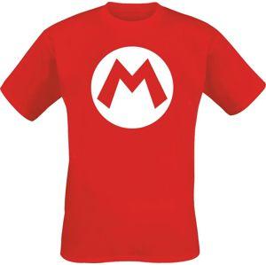 Super Mario M tricko červená