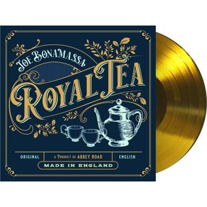 Joe Bonamassa Royal tea 2-LP & CD zlatá