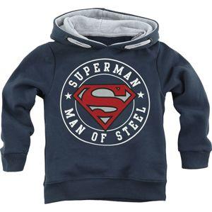 Superman Man Of Steel detská mikina s kapucí námořnická modrá