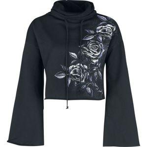 Alchemy England Iron Roses Dívcí mikina černá