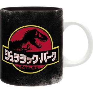 Jurassic Park Raptor Hrnek cerná/cervená