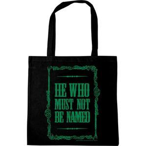 Harry Potter He Who Must Not Be Named Plátená taška černá