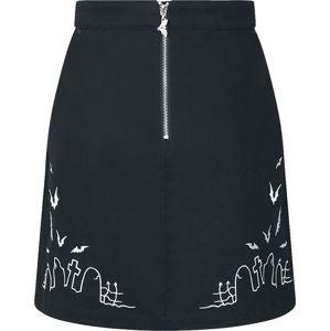 Hell Bunny Mini sukně Cullen sukne černá