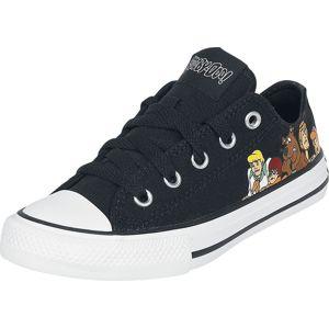 Converse Scooby Doo - Youth Chuck Taylor AS OX Scooby Mystery Inc dětské boty černá
