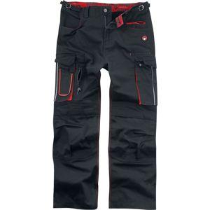 EMP Work Hard - Rock Hard Kalhoty černá