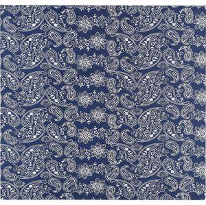Rock Daddy Blue Paisley Bandana - malý šátek modrá