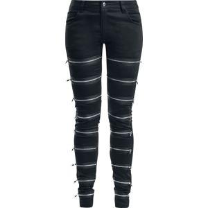 Gothicana by EMP Skarlett Dívčí kalhoty černá