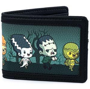 Universal Monsters Loungefly - Characters - Chibi Peněženka vícebarevný