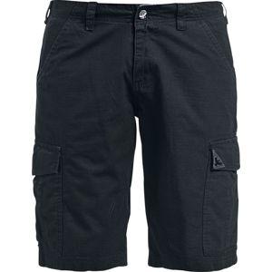 Black Premium by EMP Army Vintage Shorts Kraťasy černá