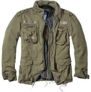 Brandit M65 Giant zimní bunda olivová