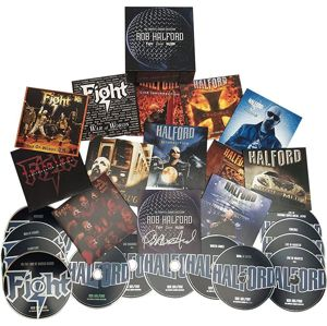 Rob Halford Complete Albums Collection 14-CD standard